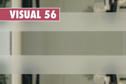 VISUAL 56 - Bande dépolie de 5cm x 10m