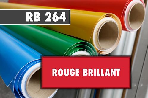 RB 264 - PVC Rouge brillant