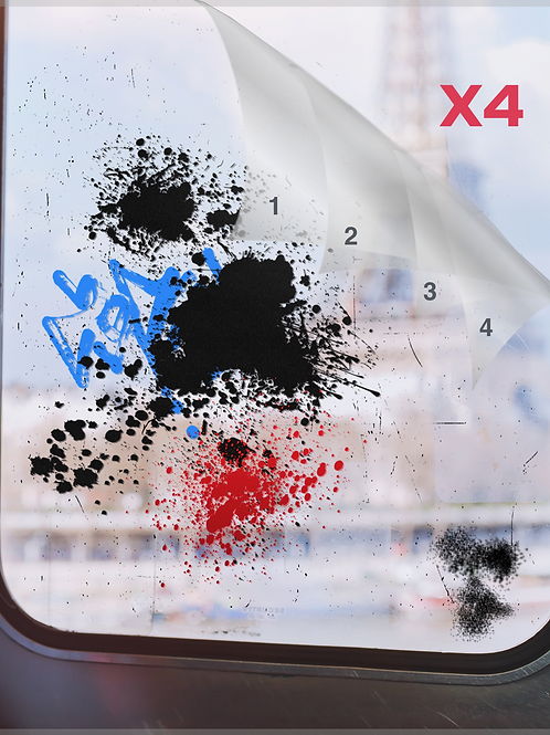 AGM 400 - Anti-graffitis - Multicouches