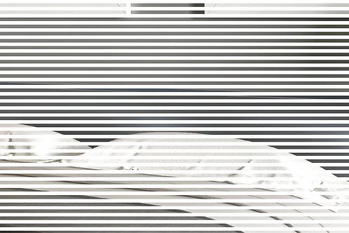 INT244 - Bandes blanches de 4mm / espaces de 4mm