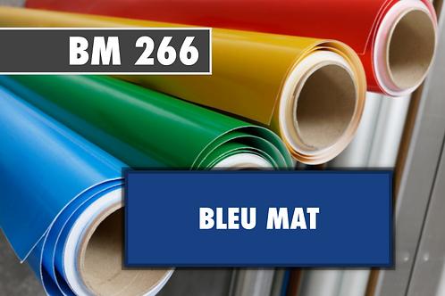 BM 266 - PVC Bleu mat