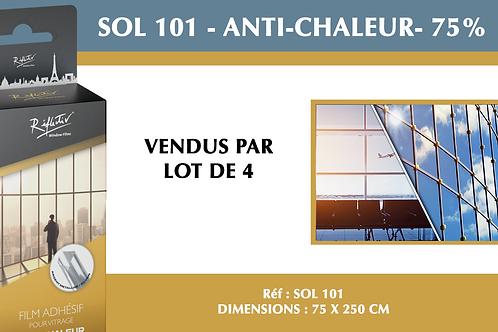 SOL 101- Film anti-chaleur - 75%
