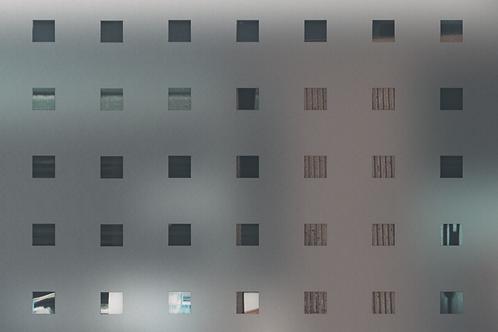 INT470 - Dépoli à carrés transparents