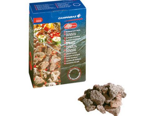 Pedra lava da campingás