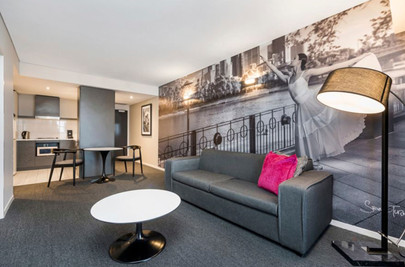 commercial wall mural