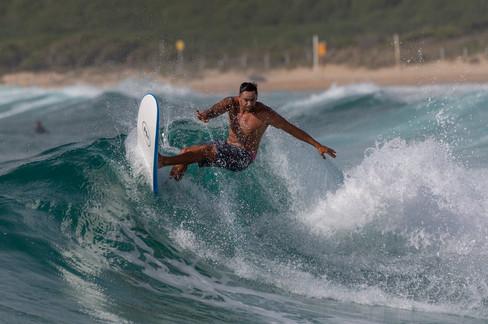 Maroubra Surfer _c.steve turner