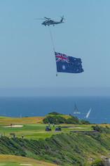 australia day 2021 sail golf flag_STP580