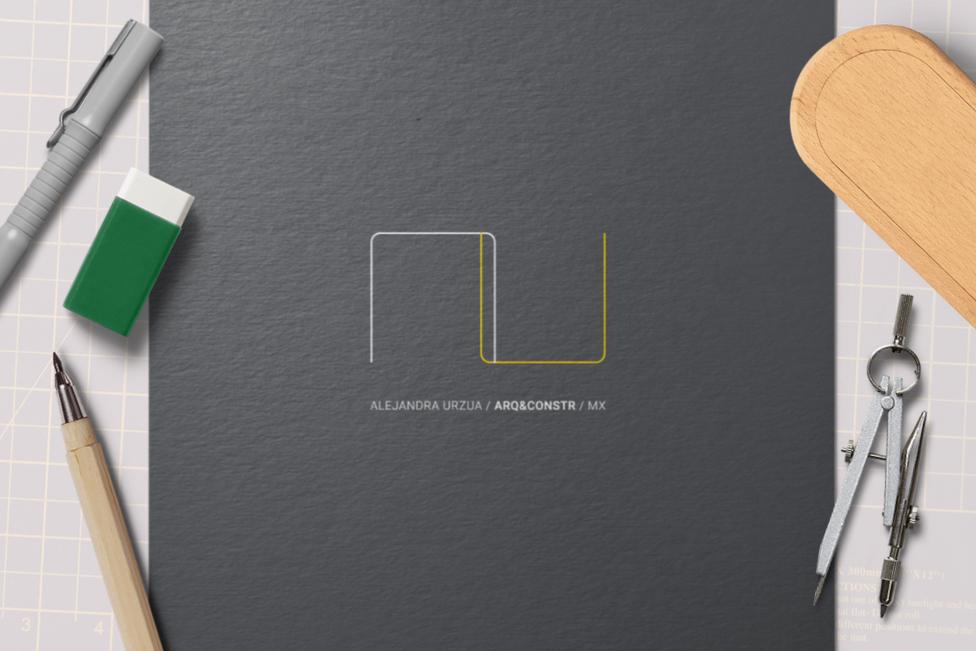 AU Arquitectura logo application
