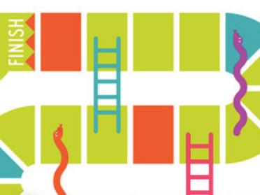 Serpientes y Escaleras.