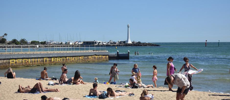 Melb   Kilda Beach / Luna Park