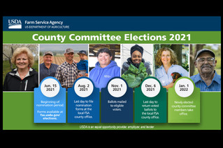 """""""Enthusiastic, diverse leaders"""" need for FSA County Committees"""