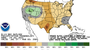 It could be August before Mid-Atlantic region sees more rain