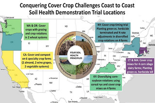American Farmland Trust awarded grant to improve soil health practices