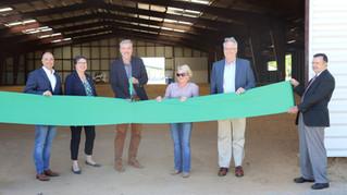 State Fair of Virginia celebrates completion of Farm Credit Pavilion