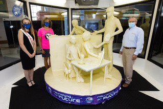 52nd Annual American Dairy Association North East Butter Sculpture unveiled: Nourishing Our Future