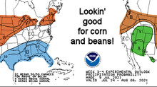 Summer weather pattern shaping up nicely for farms in Mid-Atlantic region