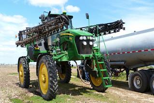 Use caution around farm equipment during fall harvest