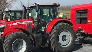 Tractor sales up 34% in December; up 18% for the year