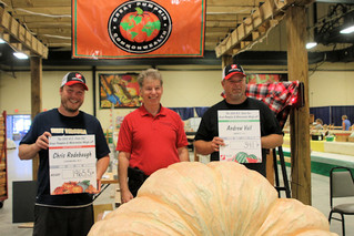 Records set in NC giant pumpkin and watermelon competition