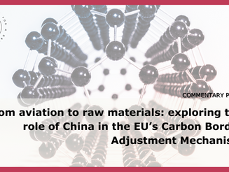 From aviation to raw materials: exploring the role of China in the EU's CBAM
