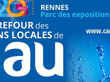 Carrefour de l'eau, 30-31 janvier, Rennes