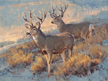 First Snow 12x16 Jim Morgan (c) .jpg