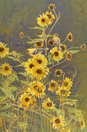 Mostly Sunny-30x20-oil on linen-$12,500-