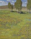 Summer Near Glade Park, 10x8 inches, oil