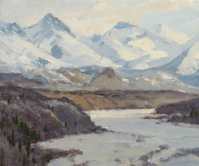 19011(100) Matanuska River, Alaska 10x12