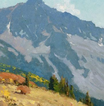 19027 (100) Mountain Shadows 12x12 Oberg