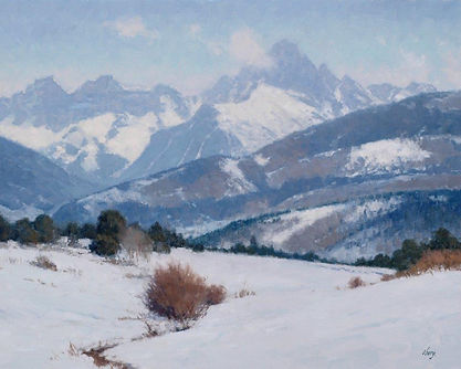 15058 (300) Winters Breath  24x30 Oberg
