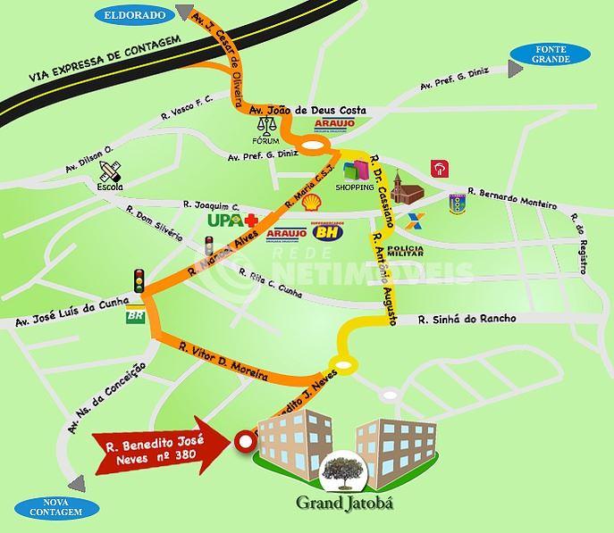 Hus - Mapa