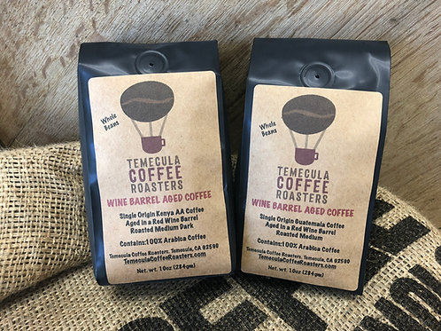 Gift Pack of 2 Wine Barrel Aged Coffees