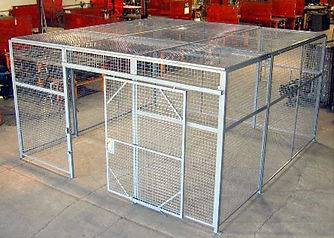 Wire-Cages/Tool-Cribs/Trucker-Cage
