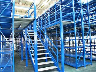 Warehouse Pallet-Rack Catwalks