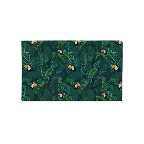 Toucan Tropical Premium Pillow Case