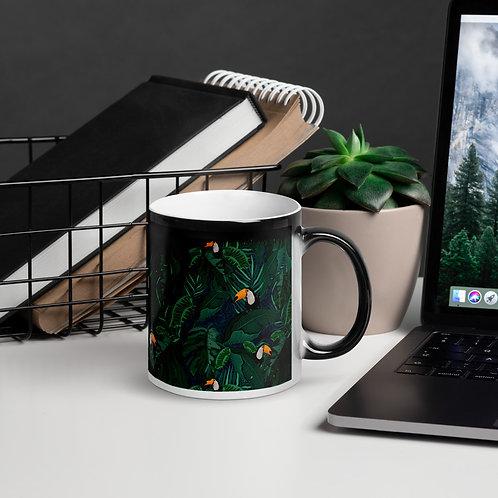 Toucan Tropical Glossy Magic Mug