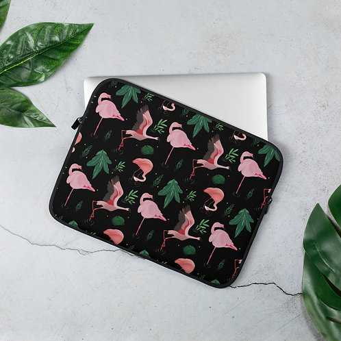 Flimsy Flamingo Laptop Sleeve