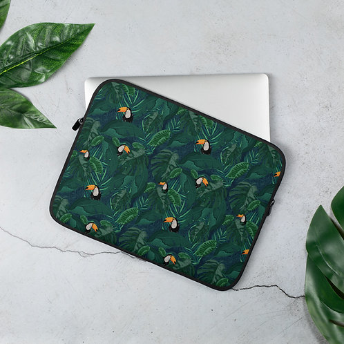 Toucan Tropical Laptop Sleeve