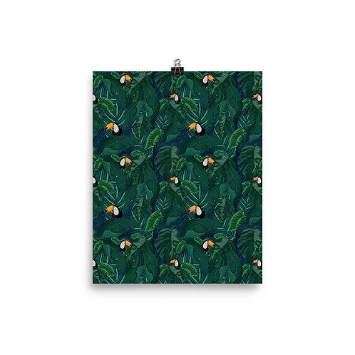 Toucan Tropical matte Poster