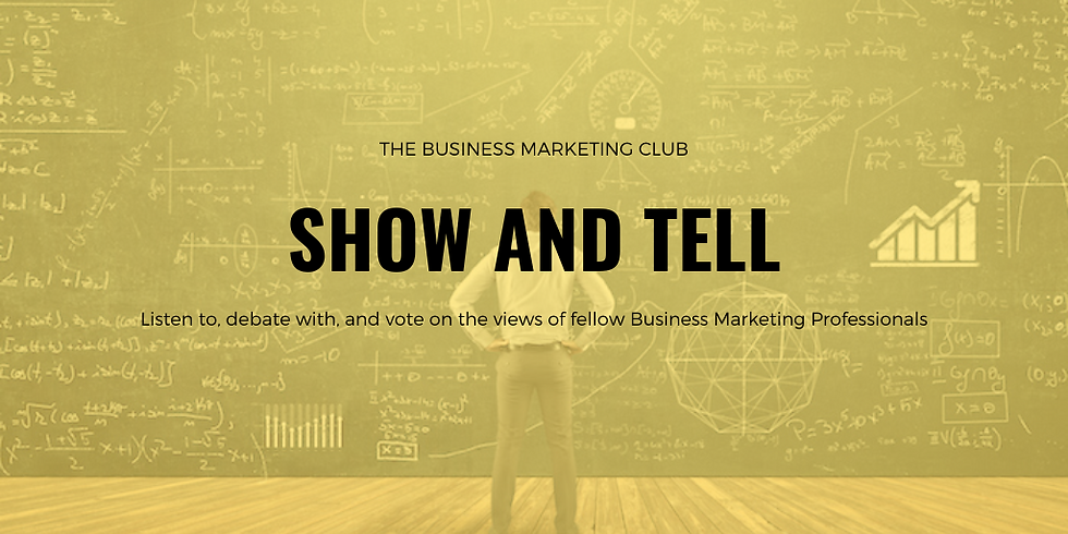 Virtual Event: Show & Tell