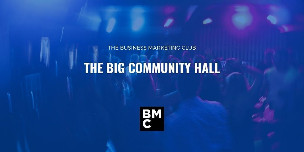 The Business Marketing Big Community Hall.  (1)
