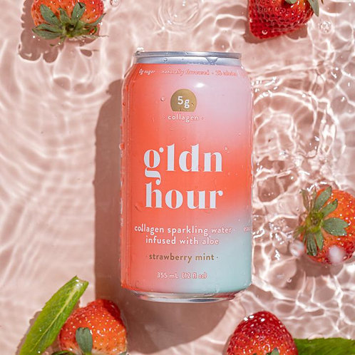 gldn hour collagen-infused sparkling water