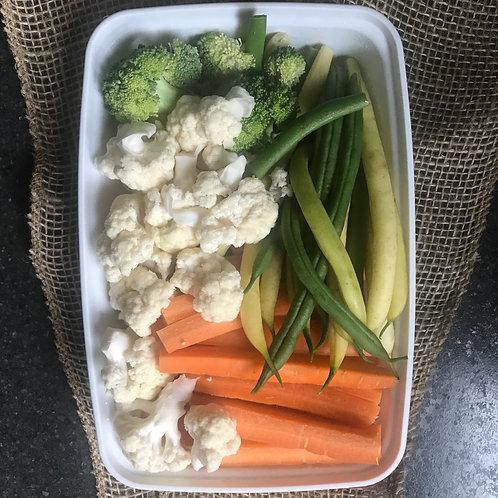 Mini Seasonal Veggie Tray