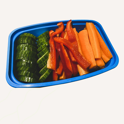 s.w.o. mini veggie tray (wednesday)