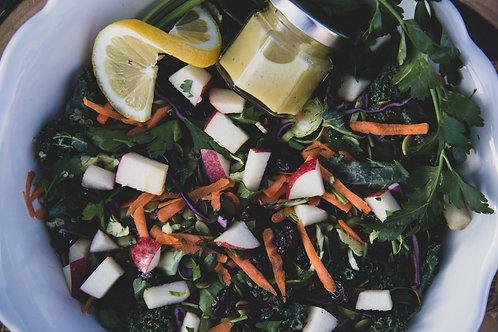 rejuvenation salad w/ chicken (wednesday)