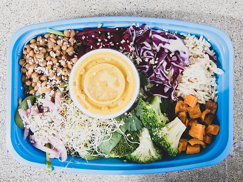 buddha bowl of sunshine (saturday)