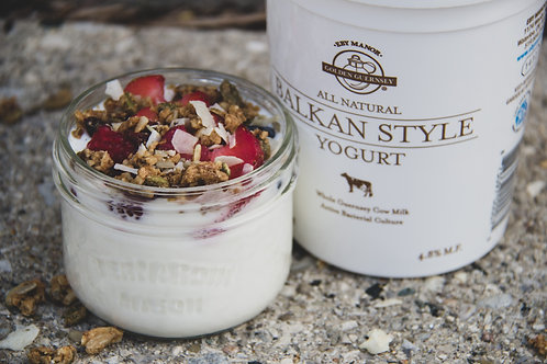 yogurt n' berries parfait