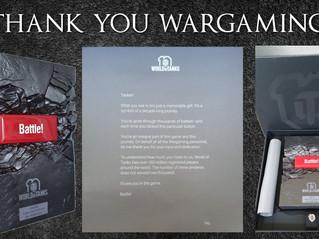 Thank You Wargaming!!