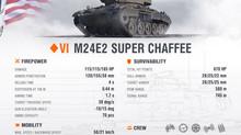 Supertest - The М24Е2 Super Chaffee
